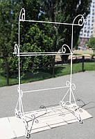 Вешалка-стойка кованая напольная