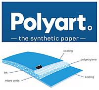 Синтетическая бумага Polyart ® (170 г/м2) в листах B1 формата (700*1000 мм)