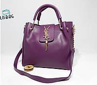 Женская сумка louis vuitton Фиолетовая реплика хорошего качества