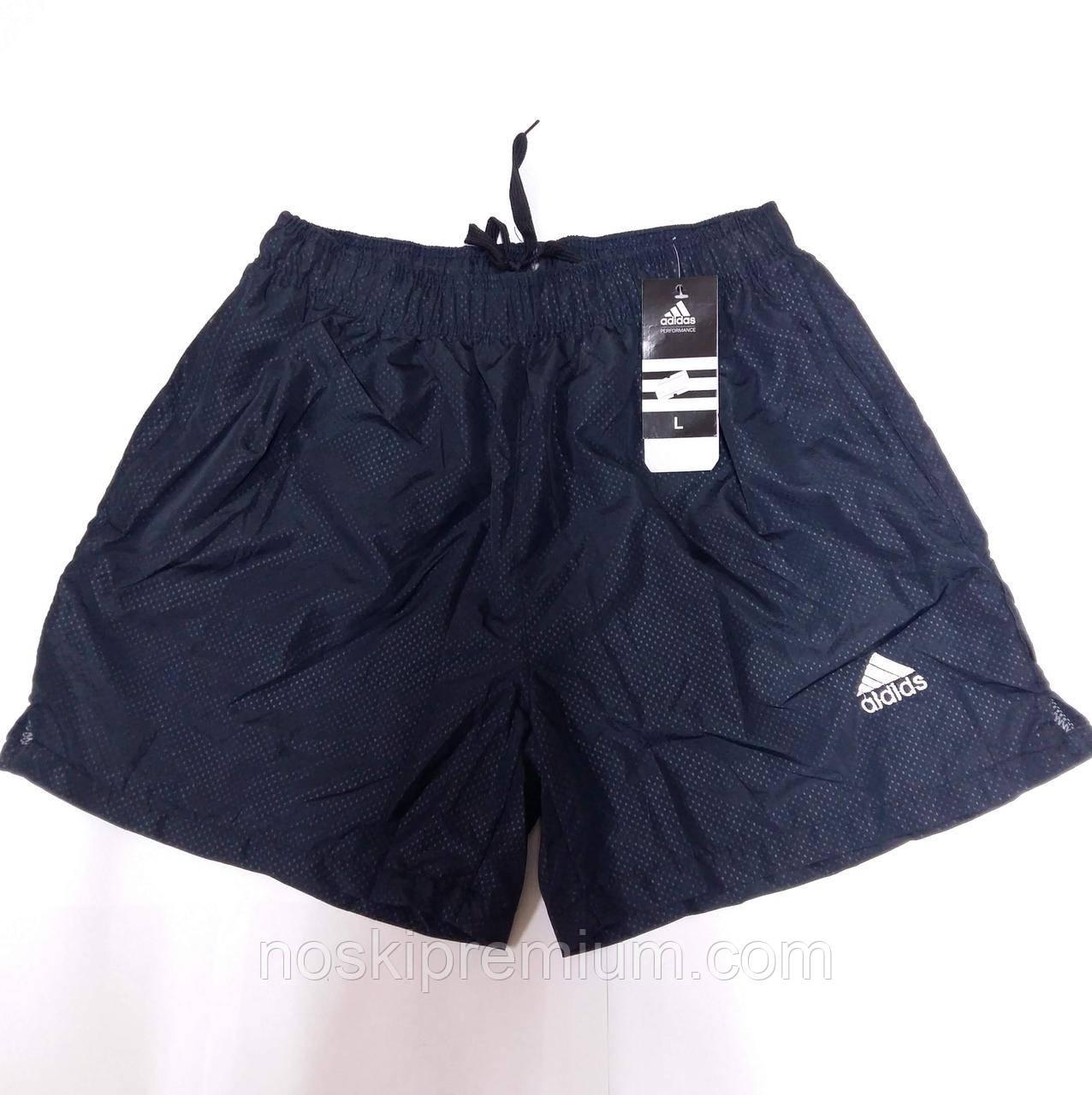 Шорты мужские спортивные Adidas, размеры M-3XL, тёмно-синие, 8809 ... 6e1695a1181