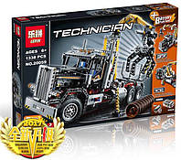 """Конструктор Lepin 20059, """"  Грузовой Лесопогрузчик""""(Technic)1338 дет., аналог Lego 9397"""