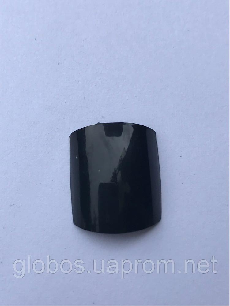 Накладные  типсы  для педикюра GLOBOS R black