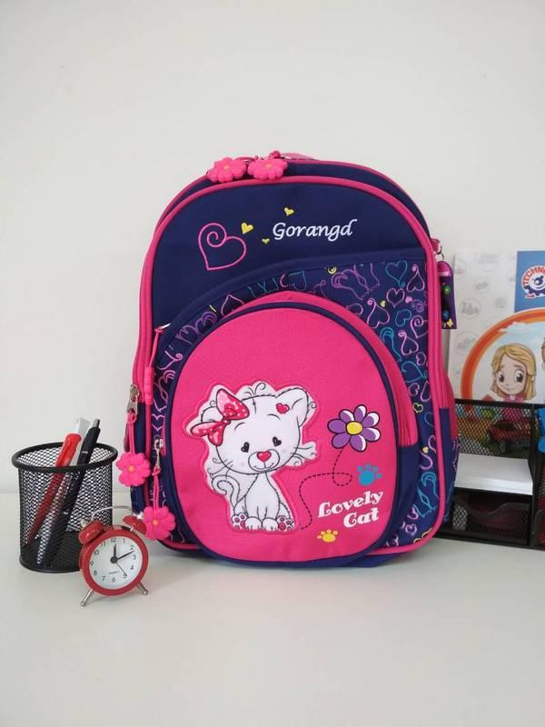 Школьный рюкзак для девочки Gorangd Lovely Cat 38*26*19 см