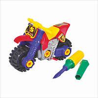 Детский конструктор 876, мотоцикл, в кульке, 20-13-7см