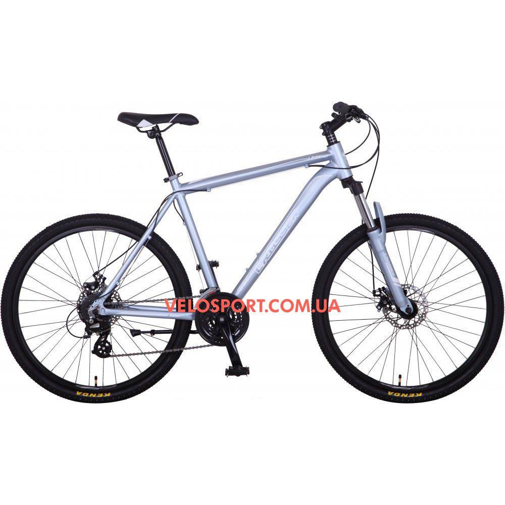 Горный велосипед Crosser Legend 26 дюймов серебристый