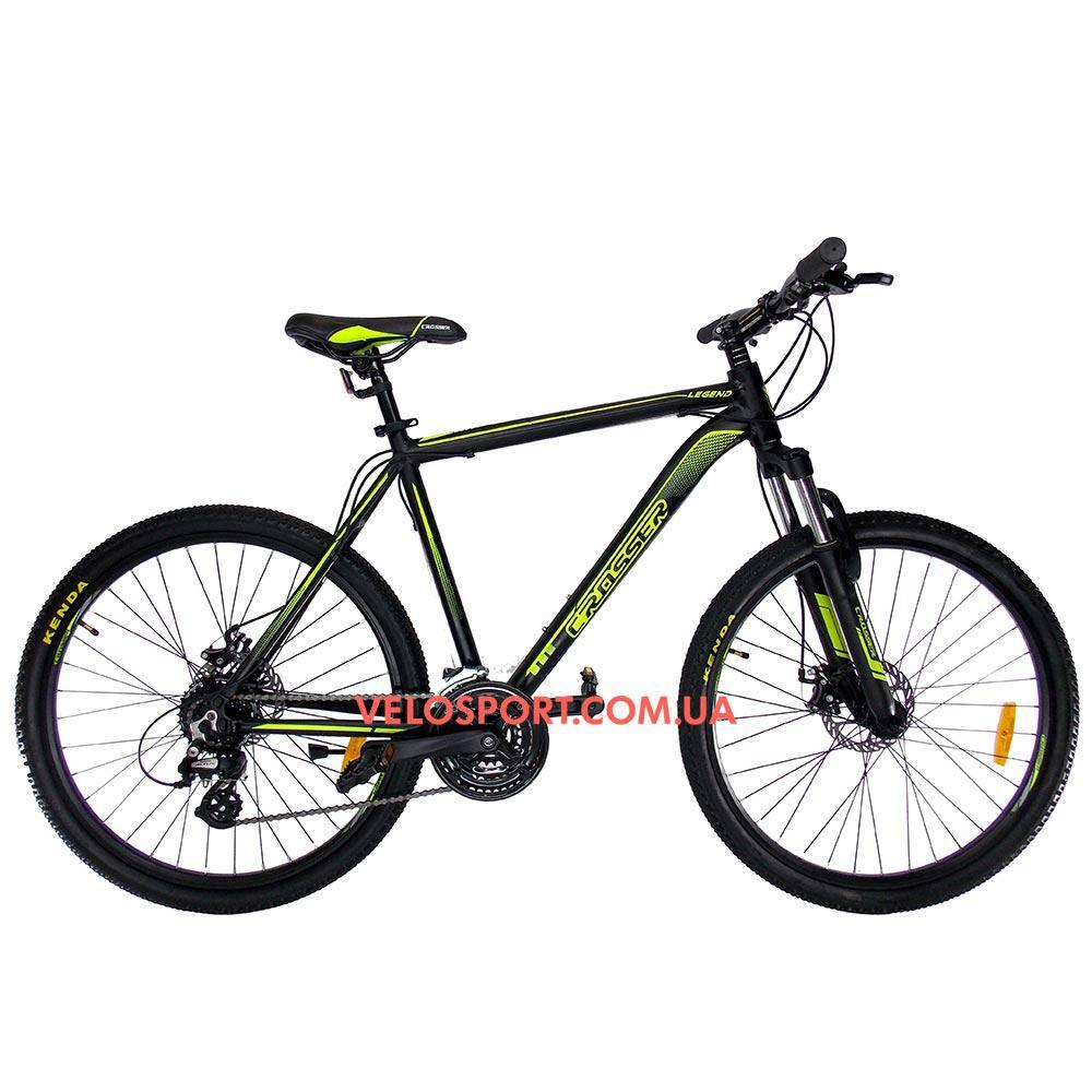 Горный велосипед Crosser Legend 26 дюймов черный