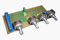 Висококачественная входная плата з темброблоком для аудиоусилителя