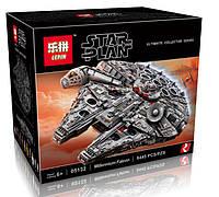 """Конструктор Lepin 05132, """"Большой Сокол Тысячелетия"""" (Звездные войны), 8445 деталей, аналог Lego 75192"""
