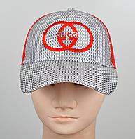 """Бейсболка """"KentAver"""" Соты GG 05100 красный, фото 1"""
