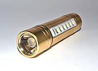 Ліхтар світлодіодний Police GL 811В ручної + налобний, фото 1