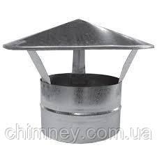 Дымоходный зонт 100мм толщина 0,5 мм/430