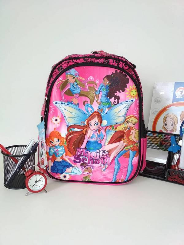 Яркий рюкзак для школы Magic School 38*30*15 см