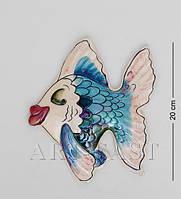 Настенное фарфоровое панно Рыба 20 см BS-194