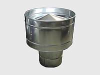 Димохідний дефлектор 100 мм товщина 0,5 мм/430