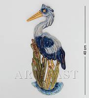 Настенное фарфоровое панно Пеликан