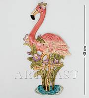 Настенное фарфоровое панно Фламинго