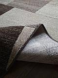 Ковёр Daffi прямоугольники - коричневый 2.00х5.00 м., фото 2