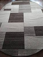 Ковёр Daffi прямоугольники - коричневый 2.00х3.00 м., фото 1
