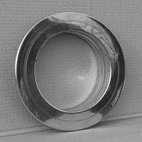 Дымоходная розета 100 мм 430 сталь