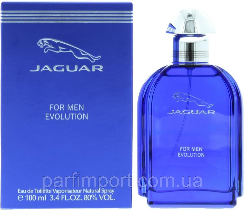 Jaguar Evolution edt 100 ml  туалетная вода мужская (оригинал подлинник ФРАНЦИЯ  )