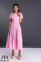 Женское платье ткань поплин