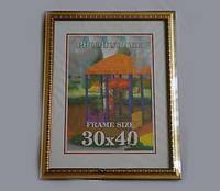 Фоторамка - Багет из пластика на одно фото 30 x 40 №30-1