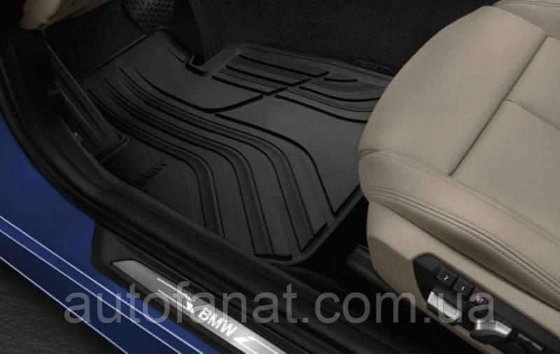 Комплект оригинальных ковриков салона для BMW 3 (F30), (F31) (51472339809 / 51472219802 )