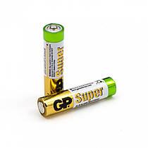 Батарейка GP Super Alkaline AAA 2шт/уп (GP24AEBC-2S2) Оригінал