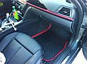 Комплект оригинальных ковриков салона для BMW 3 (F30) Sport Line резиновые (51472219800 / 51472219803), фото 7
