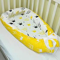 Гнездышко-кокон для новорожденного BabyNest —18