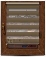 Рулонные шторы День-Ночь, 40*125, все размеры