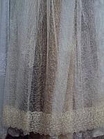 Тюль паутина органза 0-113, фото 1