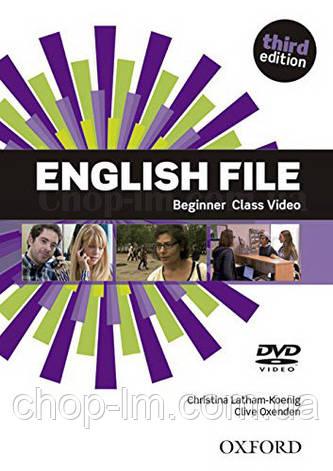 English File Third Edition Beginner Class DVD / Видео диск к курсу, фото 2