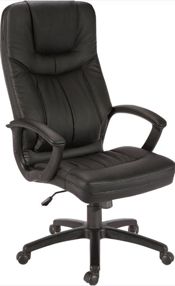 Кресло Дорсет кожзам чёрный.