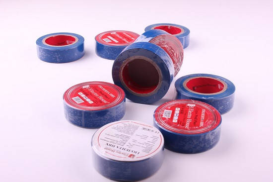 Изолента синяя ПВХ длина 11 метров , фото 2