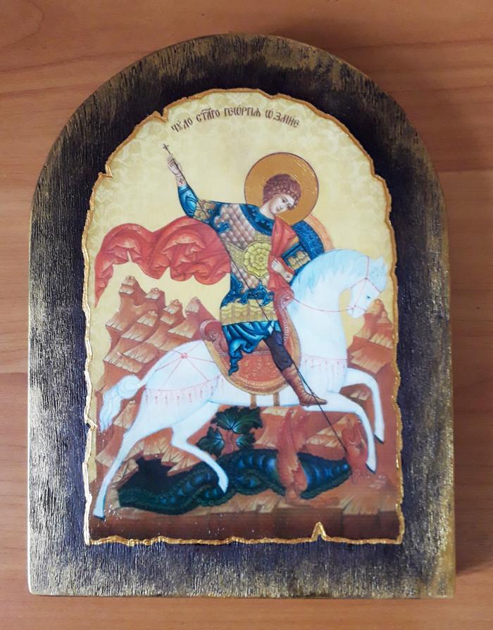 Св. Георгій на коні ікона для дому