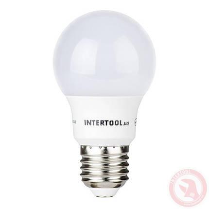 Светодиодная лампа LED 7Вт, E27, 220В, INTERTOOL LL-0003, фото 2