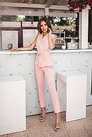 Женский модный костюм с брюками, фото 1