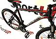 """Горный велосипед CYCLONE ALX 26"""" Черный/Красный, фото 3"""