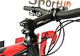 """Горный велосипед CYCLONE ALX 26"""" Черный/Красный, фото 5"""