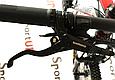 """Горный велосипед CYCLONE ALX 26"""" Черный/Красный, фото 6"""