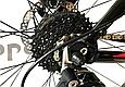 """Горный велосипед CYCLONE ALX 26"""" Черный/Красный, фото 9"""