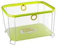 """Манеж детский игровой KinderBox""""солнышко""""(желтый мишка)"""