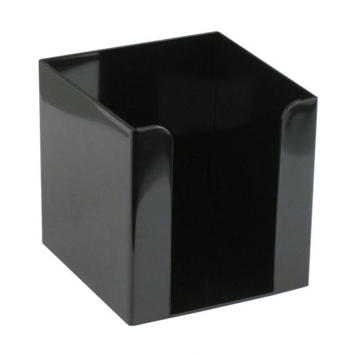 Подставка для блока бумаги Axent 90x90x90 мм черный D4005-01