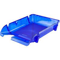Лоток горизонтальный Axent синий D4000