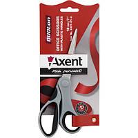 Ножницы Axent Duoton 18см канцелярские серо-черные 6301-01-А