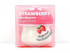 TONYMOLY Клубничный Сахарный скраб Magic Food Strawberry Mushroom Sugar Scrub 70ml
