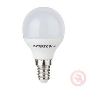 Светодиодная лампа LED 5Вт, E14, 220В, INTERTOOL LL-0102, фото 2