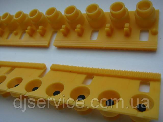 Резиновые ремкомплекты VE975200 под клавиши Yamaha PSR-76, PSR-77,  PSR-195, PSR-110