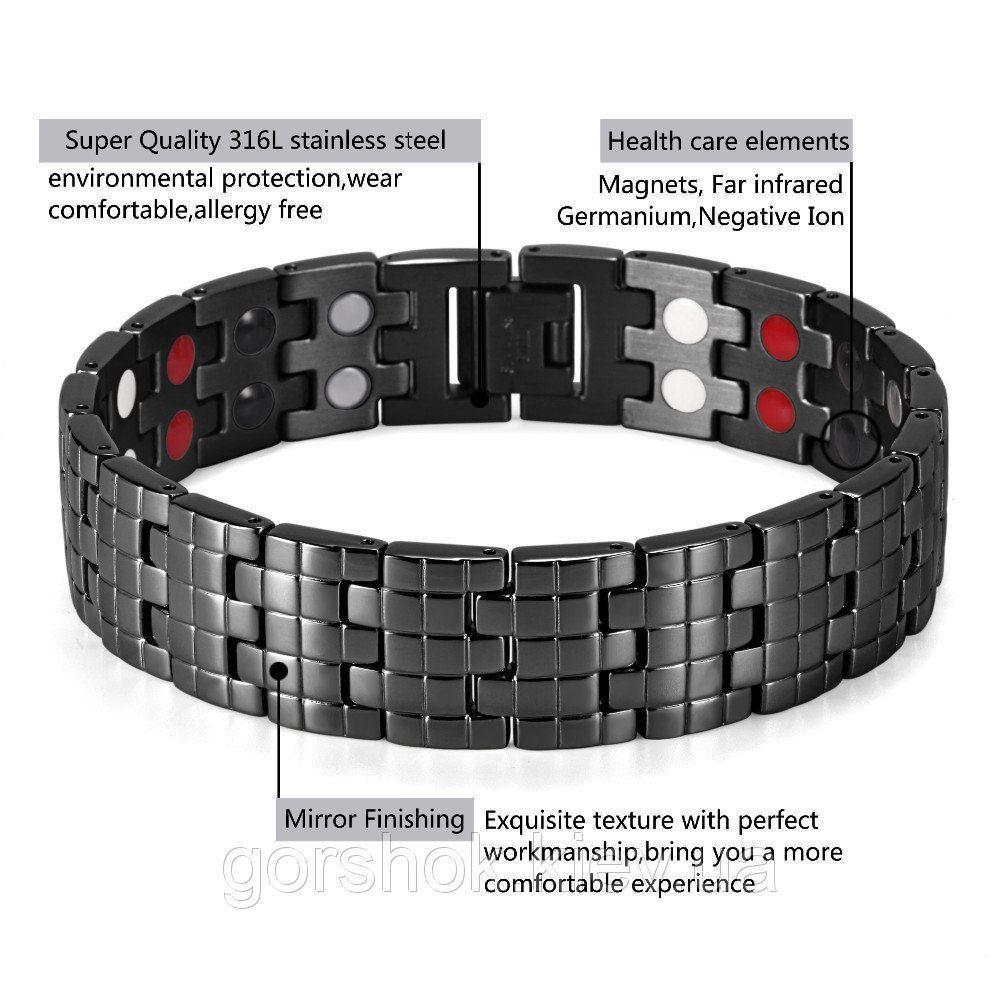 Магнитный браслет  PentActiv (ПентАктив) 18К47